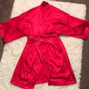 Red Victoria's Secret robe
